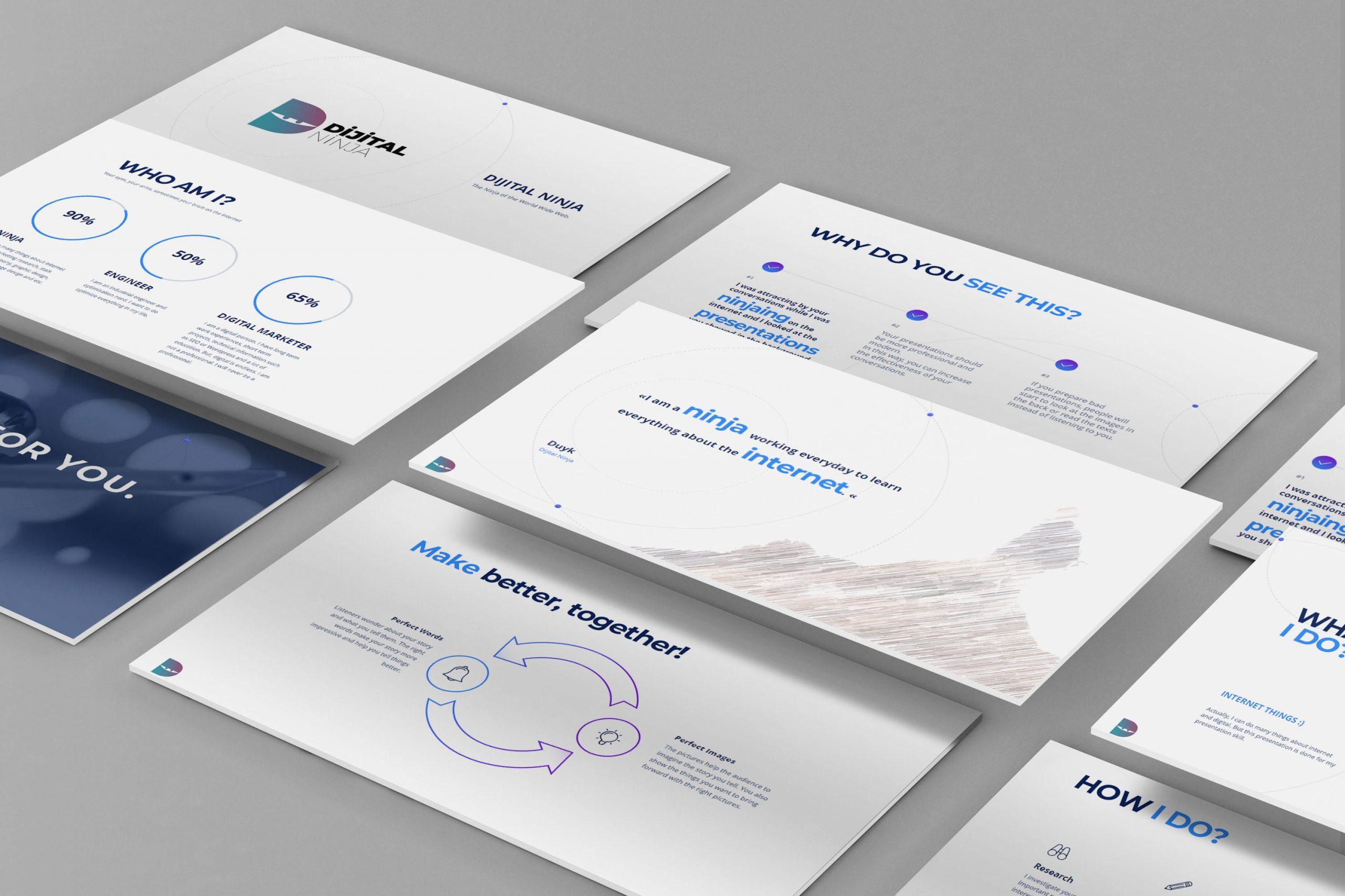 Dijital Ninja Sunum Tasarımı