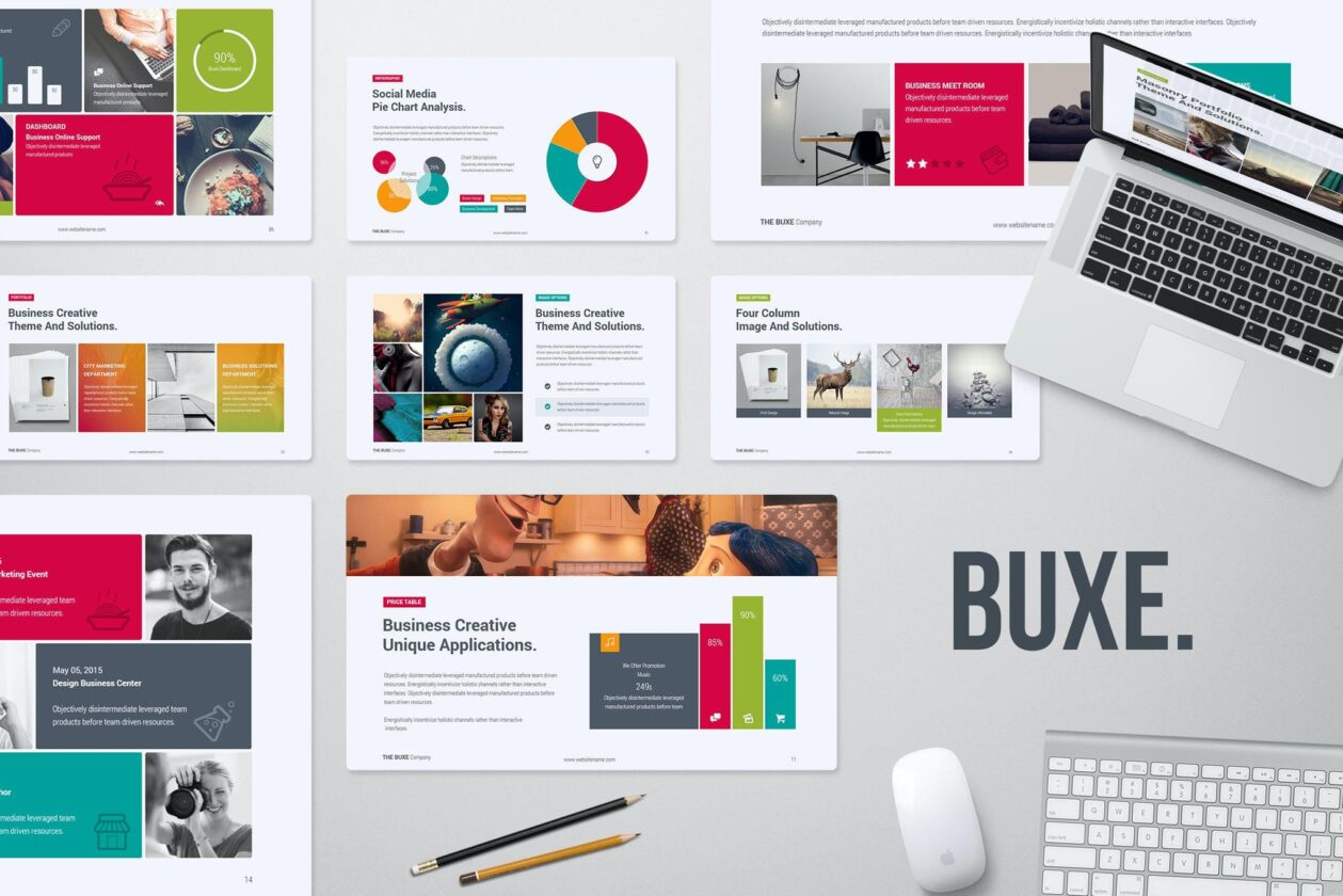 Buxe Creative PPT Template
