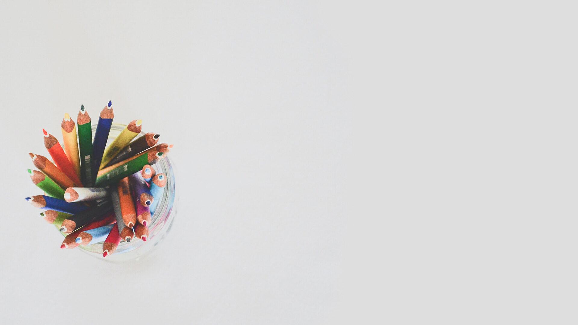 colorful pencil backgorund