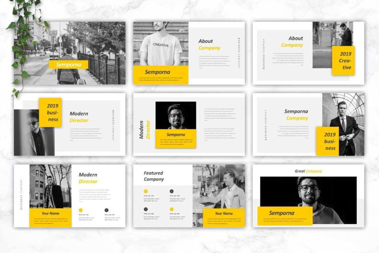 Semporna PowerPoint Template