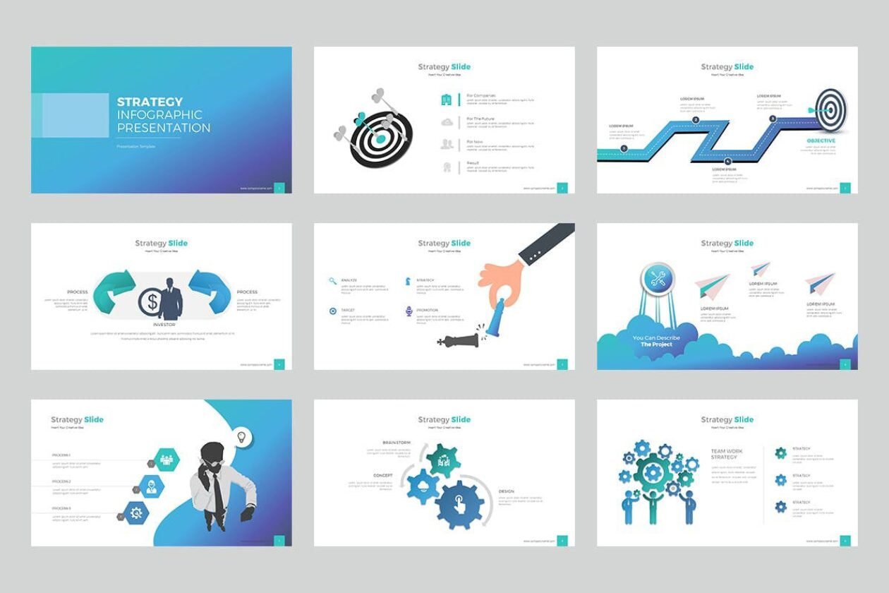 Strategy Infographic PPT Template