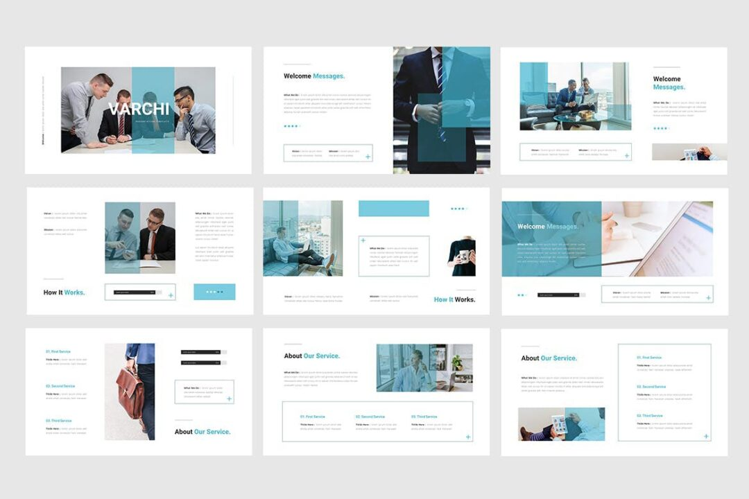 Varchi Pitch Deck Template
